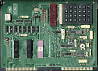 MOS Kim-1 main board showing hexadecimal keypad